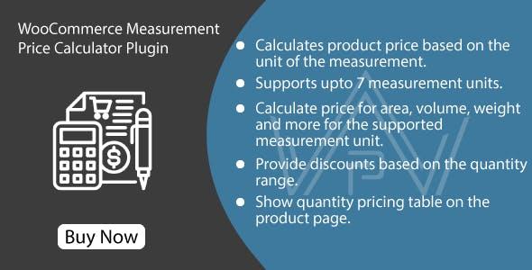 WooCommerce Measurement Price Calculator - Price Per Unit Plugin