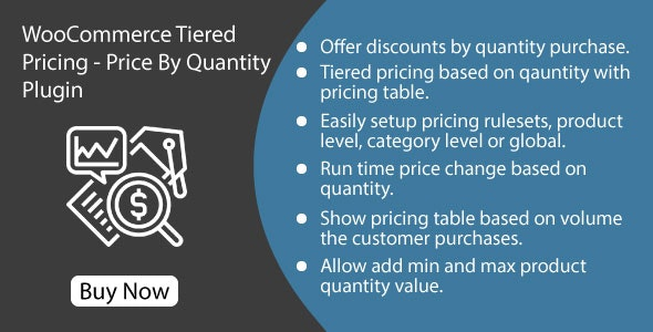 WooCommerce Tiered Pricing - Price By Quantity Plugin - CodeCanyon Item for Sale