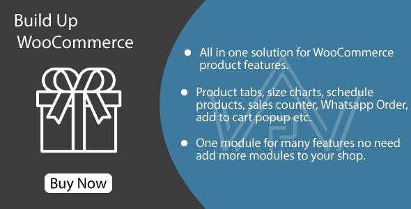 Build Up WooCommerce - Features Bundle Pack