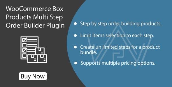 WooCommerce Box Products - Multi Step Order Builder Plugin