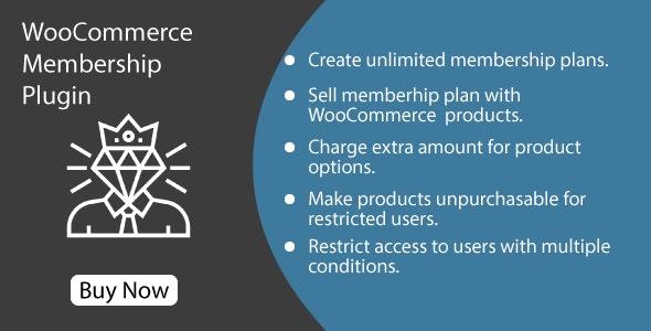 WooCommerce Membership Plugin - CodeCanyon Item for Sale