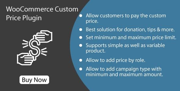 WooCommerce Custom Price Plugin - CodeCanyon Item for Sale