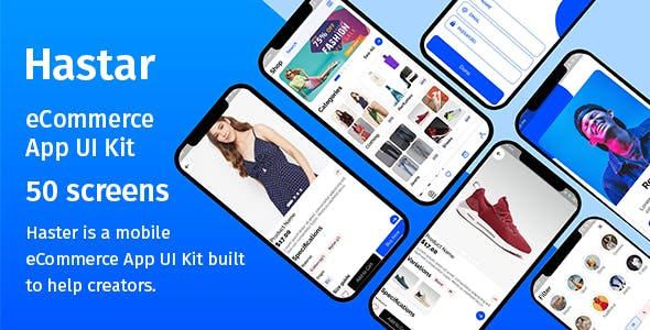 Ecommerce App Flutter UI Kit - Fashion Store, Electronics Store, All-in-one Shopping Store