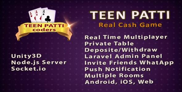 Teenpatti Online Multiplayer Game