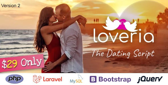 Loveria - The Laravel PHP Dating Script