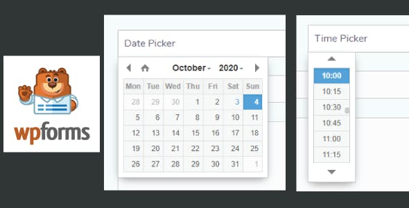 Date Time Picker for WPForms WordPress Plugin