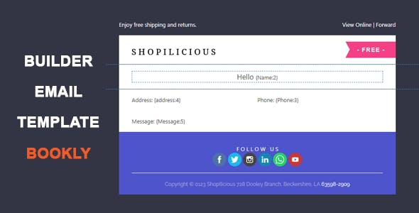 Bookly Email Template Builder