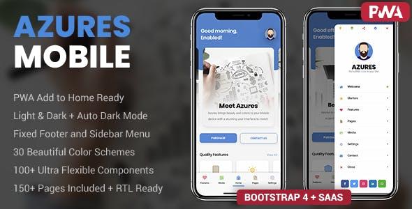 Azures Mobile | PhoneGap & Cordova Mobile App