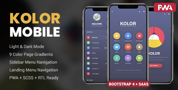 Kolor | PhoneGap & Cordova Mobile App