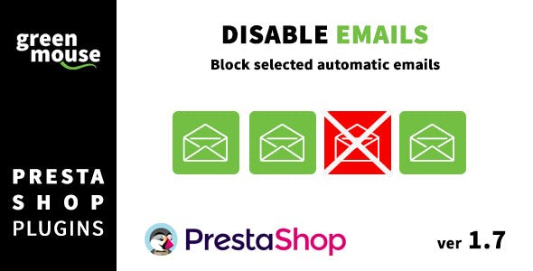 Disable selected automatic Prestashop emails