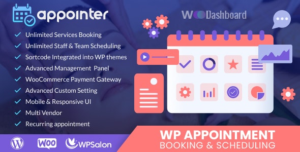 WP Appointment Booking & Scheduling - CodeCanyon Item for Sale