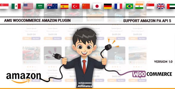 Affiliate Management System - WooCommerce Amazon