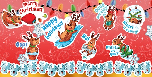 Whatsap Sticker - Christmas/New Year WASticker - CodeCanyon Item for Sale