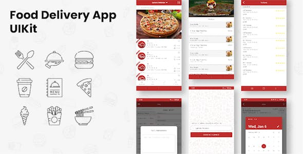 Restaurant Food Delivery Flutter UIKit