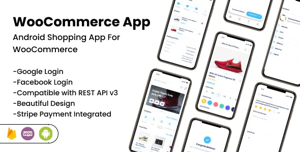 WooCommerce App - Android Online Shopping App for Woocommerce