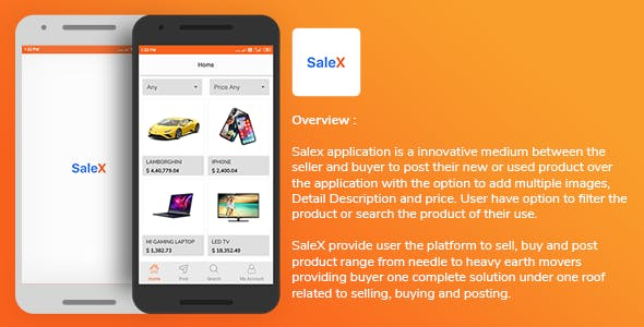 SaleX Application Template for Android