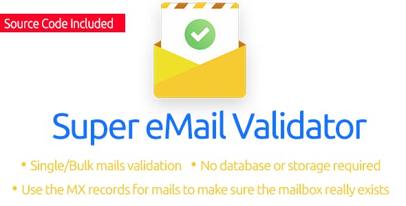 Super eMail Validator (Source Code Included)