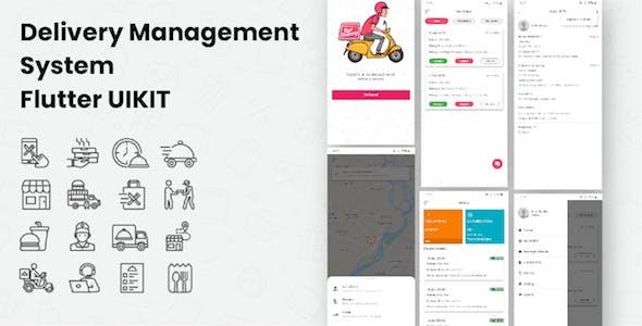 GoDelivery - Delivery Management System Flutter App