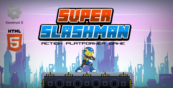 Super Slashman - Construct 2 Html5 Game - CodeCanyon Item for Sale
