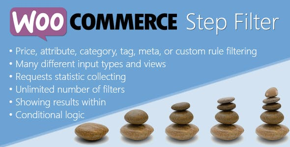 WooCommerce Step Filter