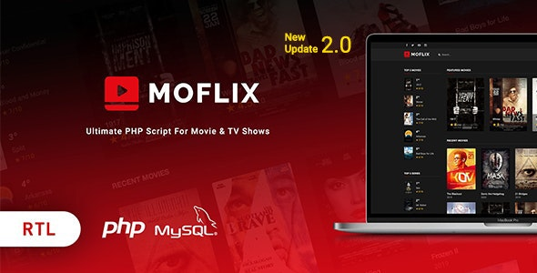 MoFlix - Ultimate PHP Script For Movie & TV Shows - CodeCanyon Item for Sale