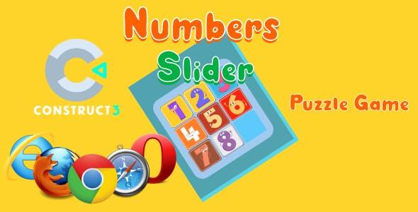 Number Slider HTML5 Game (c3p)