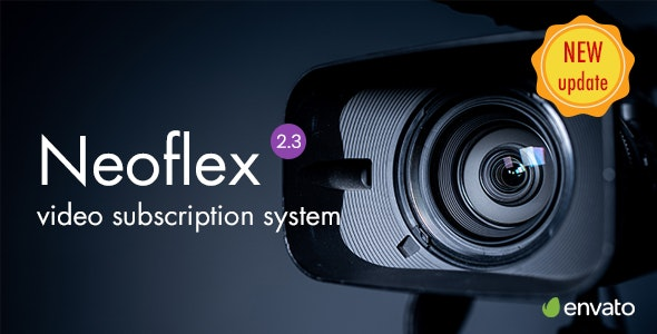 Neoflex Movie Subscription Portal Cms - CodeCanyon Item for Sale
