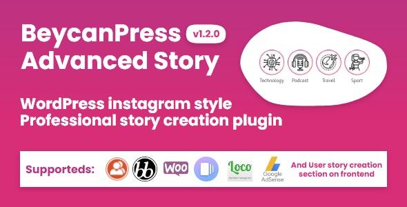 WordPress instagram style stories plugin - CodeCanyon Item for Sale
