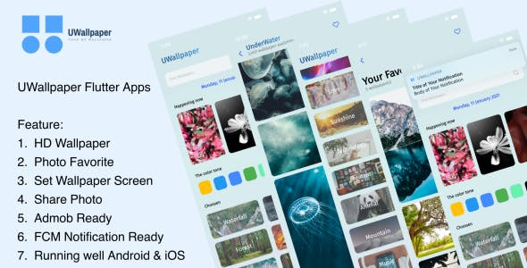 UWallpaper - Flutter Apps