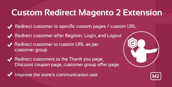 Custom Redirect Magento 2 Extension - CodeCanyon Item for Sale
