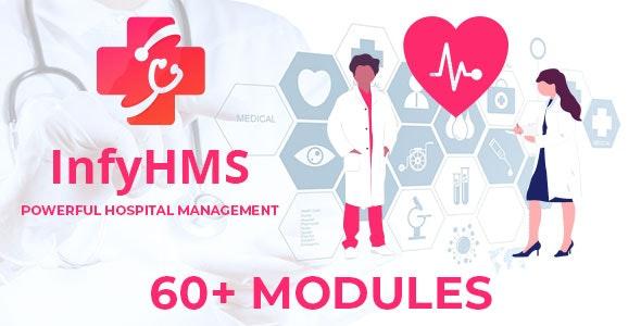 InfyHMS - Smart Laravel Hospital Management System - CodeCanyon Item for Sale