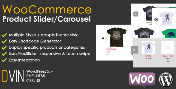 WooCommerce Product Slider / Carousel - CodeCanyon Item for Sale