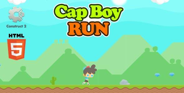 Cap Boy Run - Html5 Game