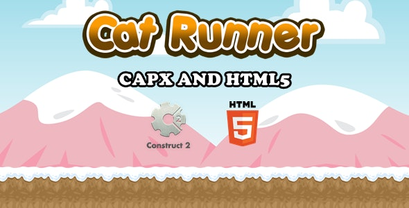 Cat Runner - Html5 Game - CodeCanyon Item for Sale