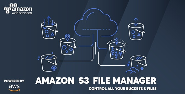 AWS Amazon S3 - Ultimate Personal File Manager - CodeCanyon Item for Sale