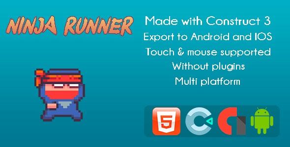 Ninja Runner - Game Arcade - CodeCanyon Item for Sale
