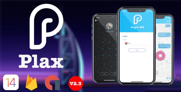 Plax - iOS Chat App with Voice/Video Calls