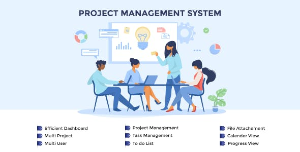 Project Management System in Asp.net C# MVC