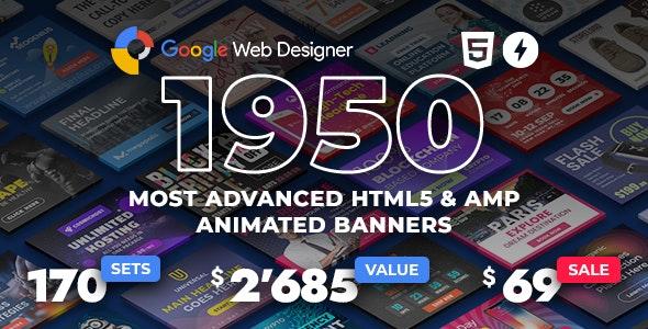 YN Bundle - Most Advanced HTML5 Banner Bundle made with Google Web Designer