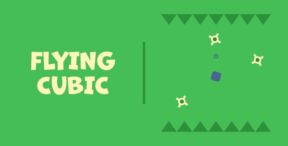 Flying Cubic | HTML5 | CONSTRUCT 3 - CodeCanyon Item for Sale