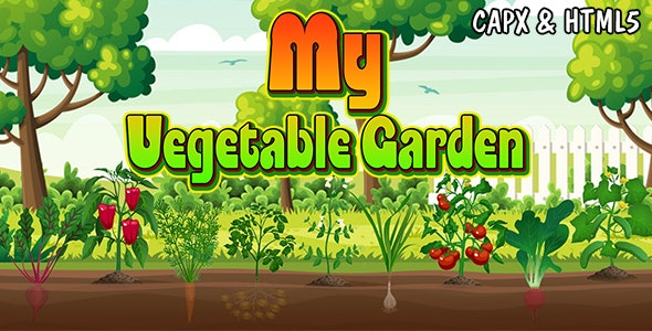 My Vegetable Garden (CAPX and HTML5) Plantation Game - CodeCanyon Item for Sale
