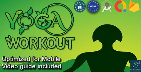 Yoga Workout (Admob + GDPR + Android Studio)