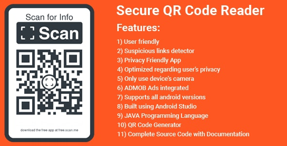 QR & Barcode Scanner and Generator app - CodeCanyon Item for Sale