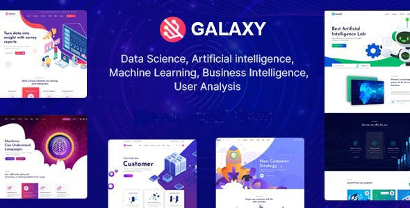Galaxy - Data Science & Analytics Laravel Theme