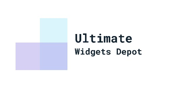 Ultimate Widgets Depot