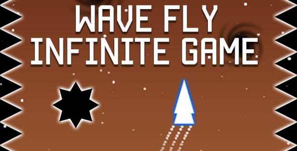 Wave Fly - Infinite HTML5 Game (CAPX)