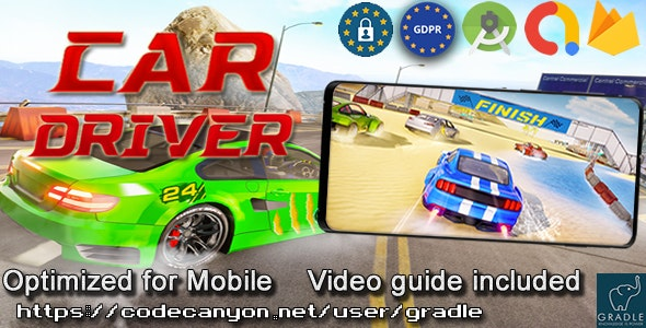 Car Driver (Admob + GDPR + Android Studio) - CodeCanyon Item for Sale