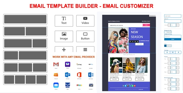 Email Template Builder -  Email Customizer - CodeCanyon Item for Sale