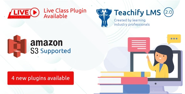 Teachify LMS – Powerful Learning Management System - CodeCanyon Item for Sale