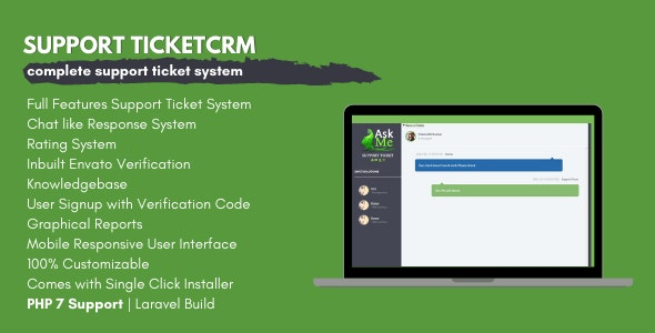 AskMe - Advanced Support Ticket System - CodeCanyon Item for Sale